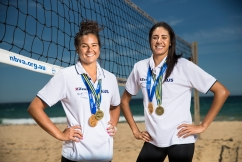 Our dynamic beach volleyballers