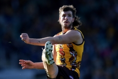 """Hawthorn captain Ben Stratton reveals his """"biggest struggle"""" with new role"""
