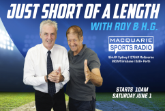 Roy and H.G. join Macquarie Sports Radio