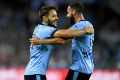 Milos Ninkovic reveals he met with club officials to talk Alex Brosque out of retirement