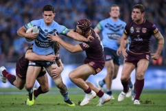 Josh Reynolds says NSW must stick with incumbent halves