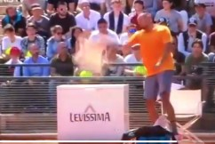 Watch: Nick Kyrgios kicked out of Italian Open after stunning outburst