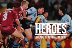 'Thirty minutes of fighting and then a game of footy broke out': Steve 'Blocker' Roach on Origin of old
