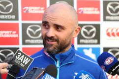 Jimmy's big update on Rhyce Shaw's future at North Melbourne