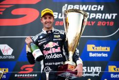 Whincup, 'feels great' to break the drought